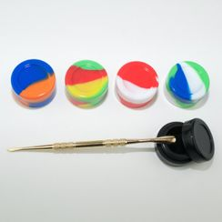 Dab Tool Silicone Container multi pack