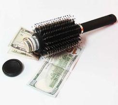 Secret Stash - Real Hair Brush Hiding Spot