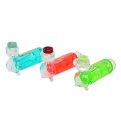 Liquid Filled Glass Pipes