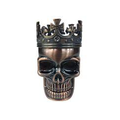 Crowned Skull Herb Grinder