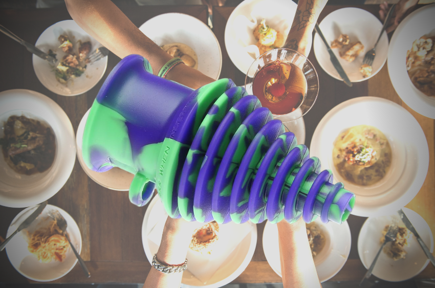 silicone-bong-mouthpiece