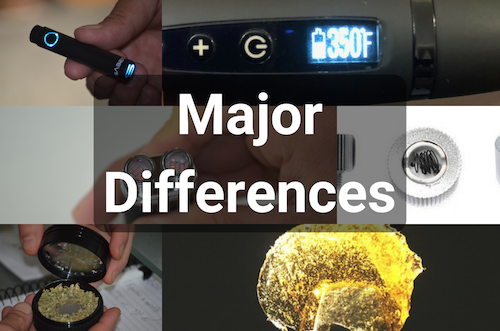 major-differences